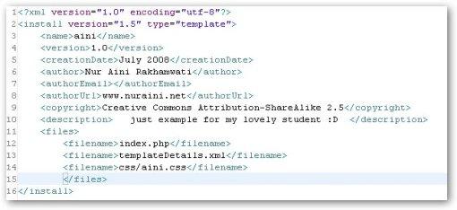 Membuat Template Joomla Sederhana Dan Cepat Code Is For A Fun Not