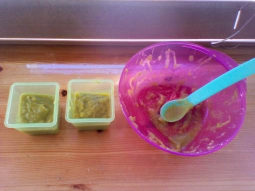 Green Peas Puree #babyfood